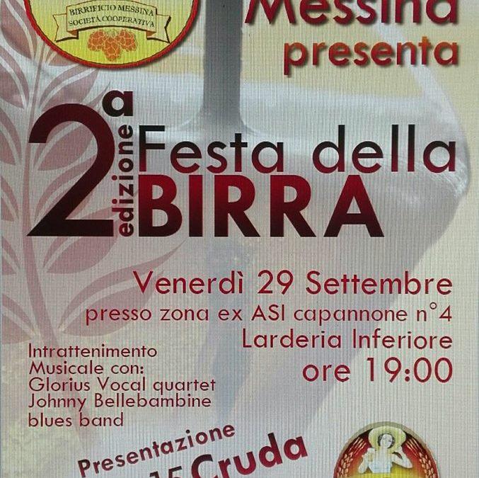 Il Birrificio Messina festeggia il primo anno con la 'II Edizione della Festa della Birra'