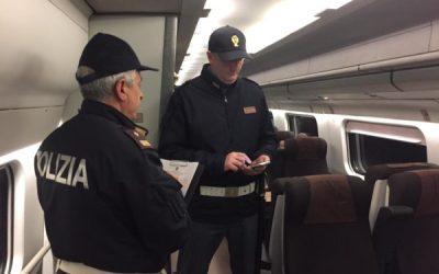 Sicilia. Controlli in stazioni e treni, bilancio: 1 arresto, 2 indagati e circa 3.500 persone controllate