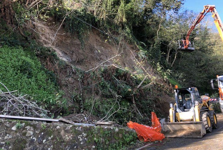 """Messina. Frana San Michele-Portella, Minutoli:""""Si sta procedendo a mettere in sicurezza la zona"""""""