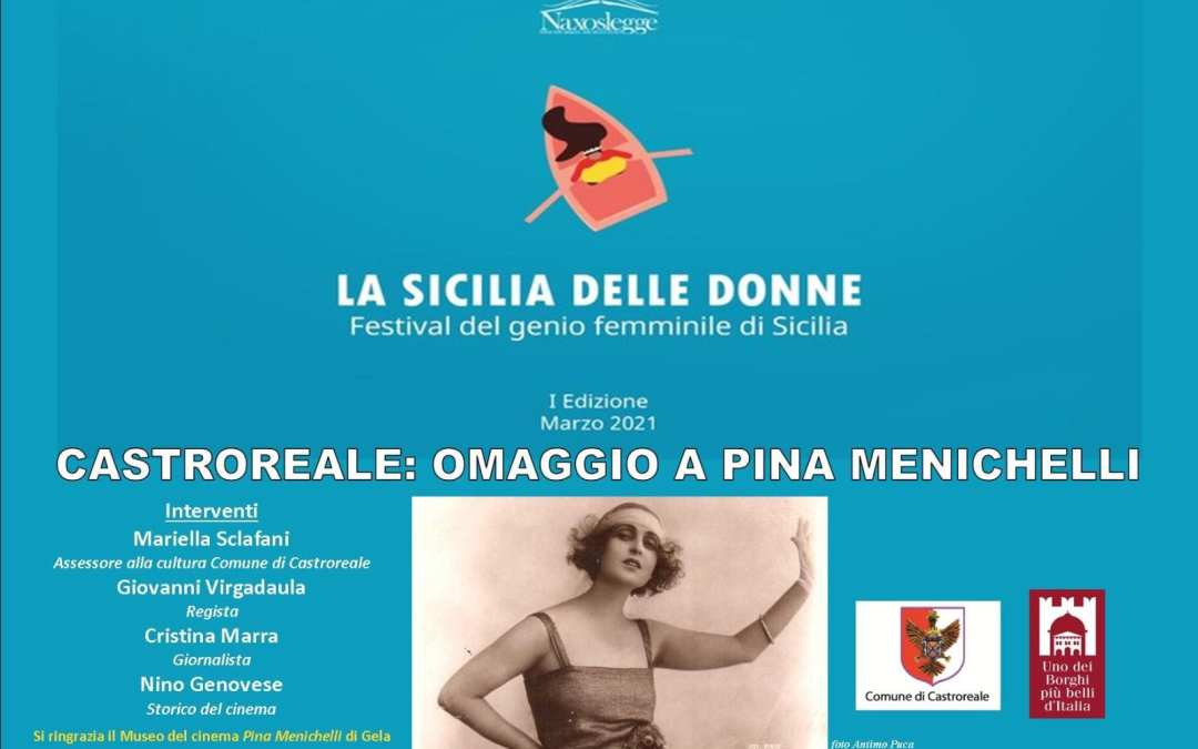 Castroreale omaggia Paola Menichelli al festival on line 'La Sicilia delle Donne'