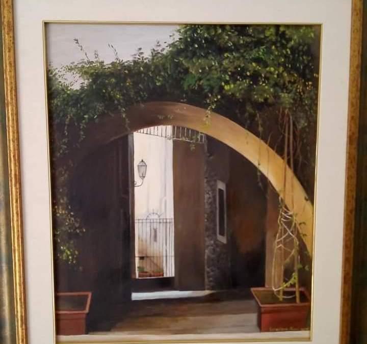 Arte. La pittrice barcellonese Loredana Aimi espone proprie opere a Novara di Sicilia e Castroreale