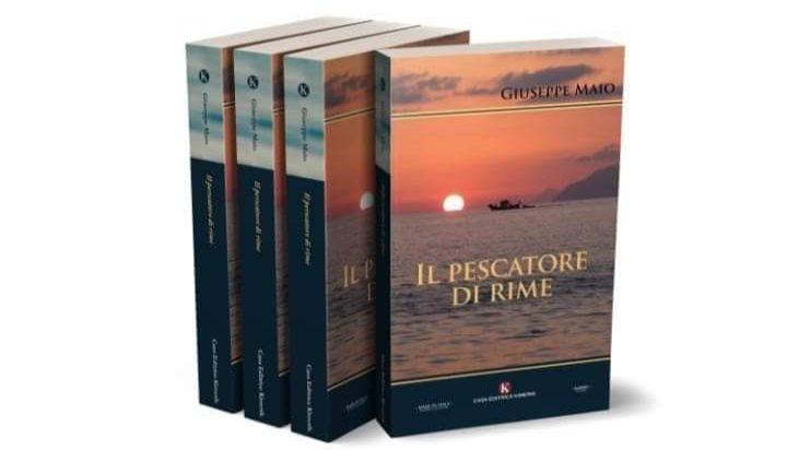 """Barcellona PG. Giuseppe Maio presenta il libro """"Il Pescatore di Rime"""" a Piazza San Rocco di Calderà"""