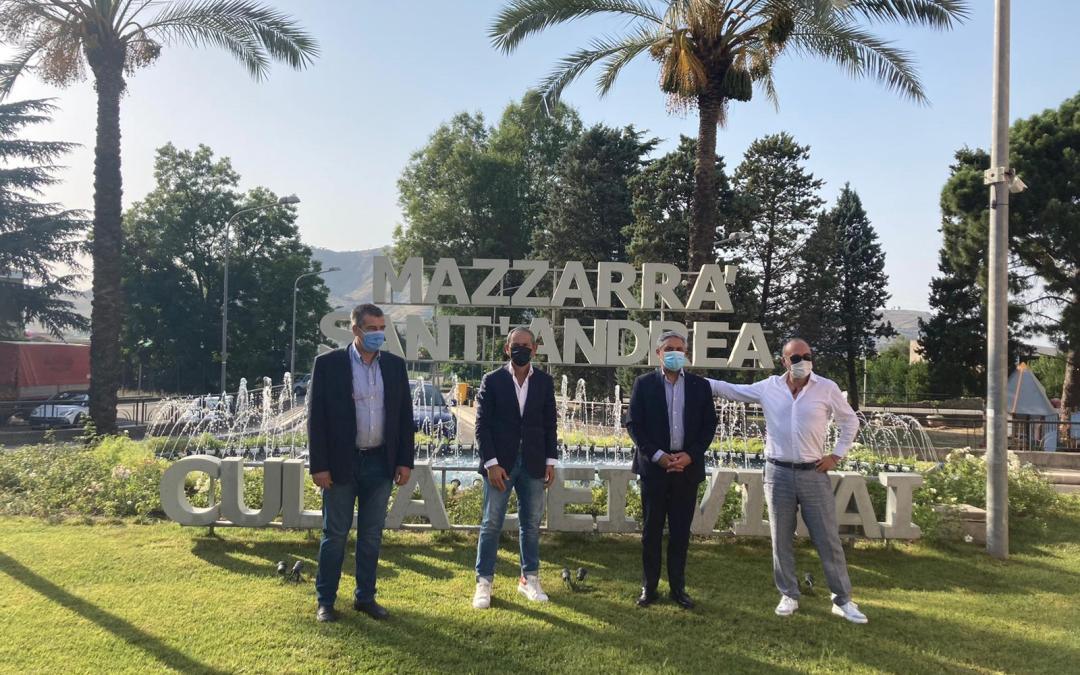 A Mazzarrà Sant'Andrea, il primo Laboratorio Fitopatologico in Sicilia: consegnato finanziamento