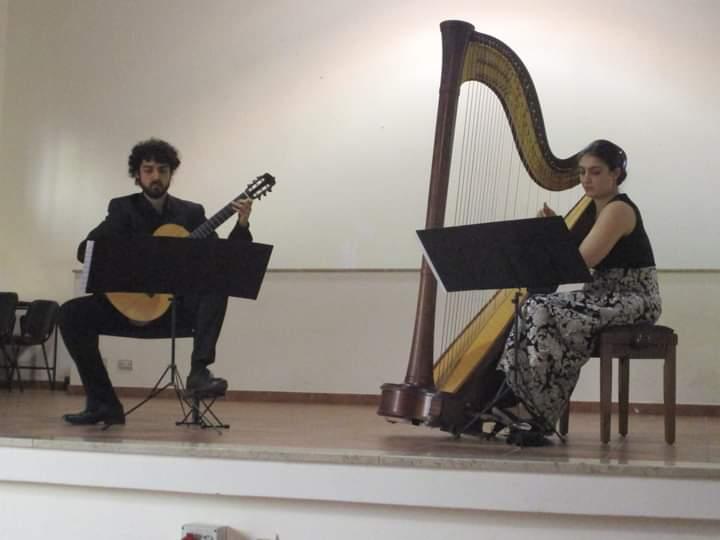"""Barcellona PG Il """"Duo ClaroScuro"""" in concerto. Grande successo per i vincitori del 22° Concorso Musicale Nazionale """"Premio Placido Mandanici"""""""