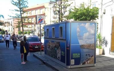 Milazzo. Installate due 'Ecoisole' per le attività commerciali del centro cittadino