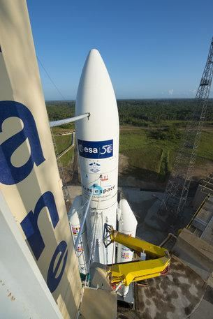 VA219  Ariane 5 ES with ATV-5 Georges Lemaître