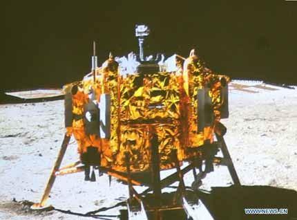 Chang'e-3 na Lua