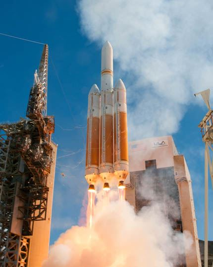 Launch of Delta IV NROL-65, August 28, 2013 from Vandenberg Air