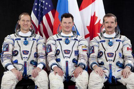 Soyuz TMA-07M tripulação
