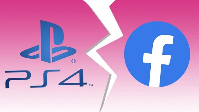 Facebook integration disabled on PlayStation 4
