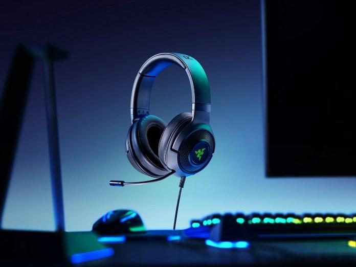 New Razer Kraken headphones give gamers a head start