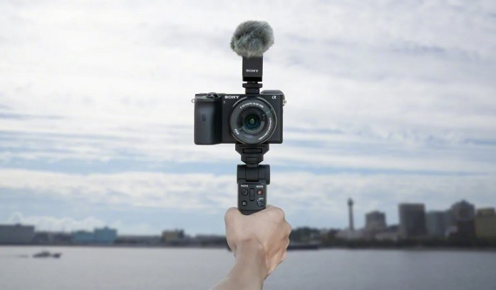 Sony introduced a convenient mono pod for cameras
