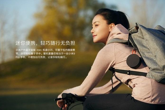 Xiaomi Mi Outdoor Bluetooth Speaker Mini, portable speakers, smart speaker.