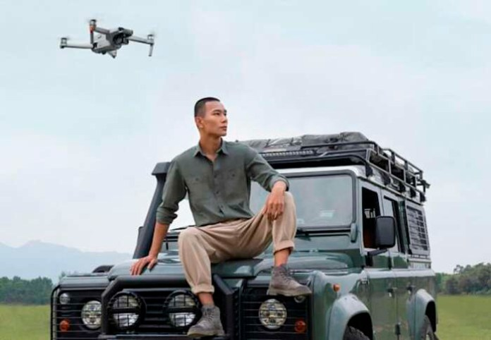 Drone DJI Mavic Air 2 Disclosed images and characteristics