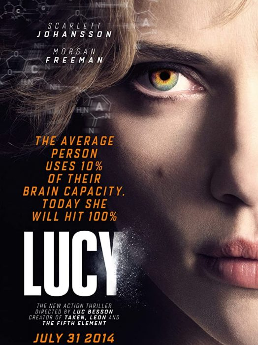 """Fantastic action movie """"Lucy"""""""