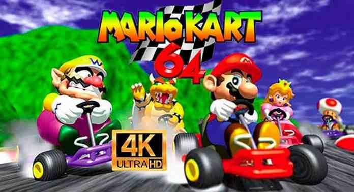 Mario Kart 64 looks stunning in this 4K@60FPS mod