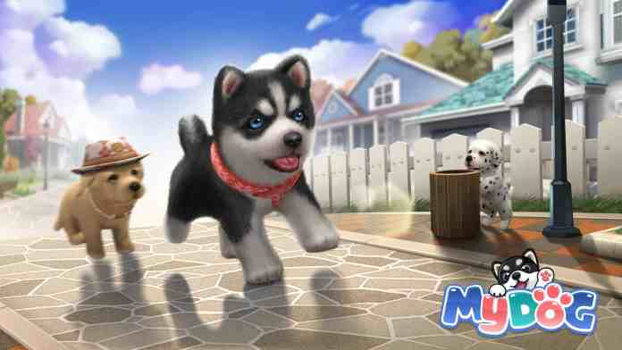 My Dog is a pet simulation game with over 60 breeds of dogs