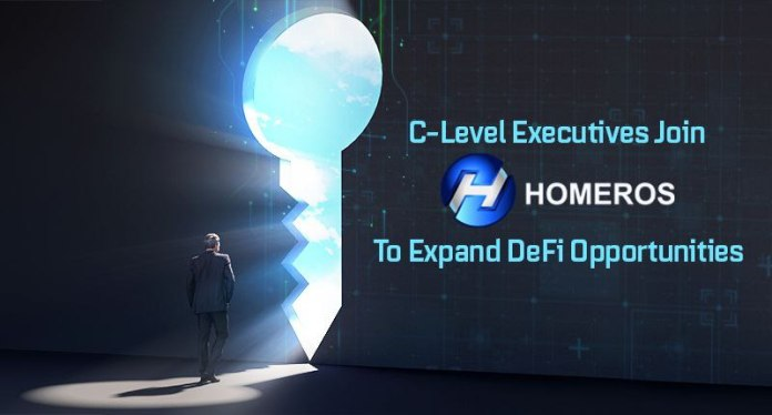 C-Level Executives Join Homeros to Expand DeFi Opportunities
