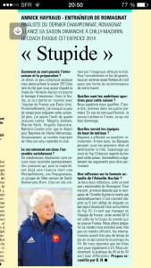 article annick Midol