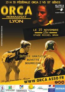 Prochain match à Romagnat, contre le LOU