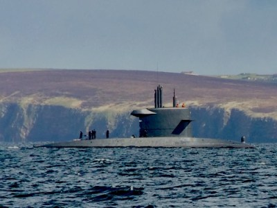 Submarine spotted in Scapa Flow - The Orcadian Online