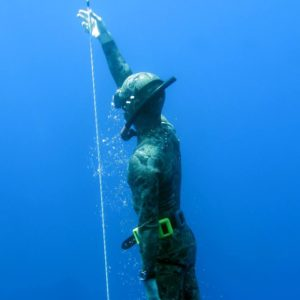 Nicola Florio Freediver Instructor