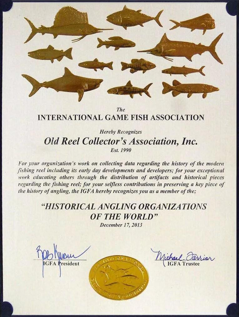IGFA Award