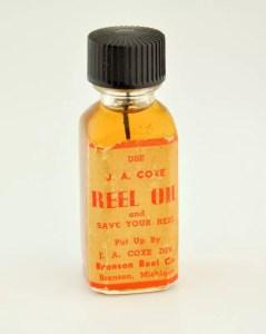 Bronson Reel Oil Bottle