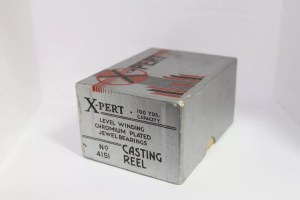 """X-pert"" Reel (Engraved Tear Drop Design) No.4151(?) by Bronson E"