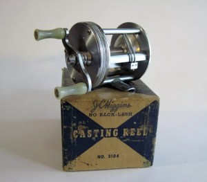 J.C. Higgins Reel Model 46 and Model 46-A by Bronson A
