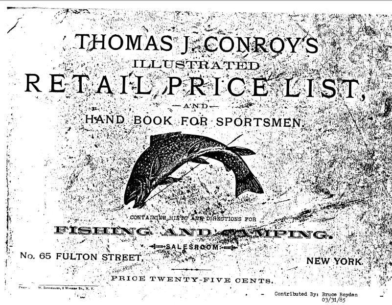 Conroy, Thomas J.