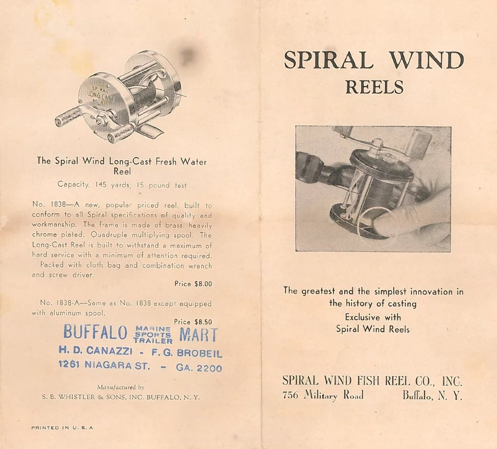 Spiral Wind Fish Reel Co. Inc.
