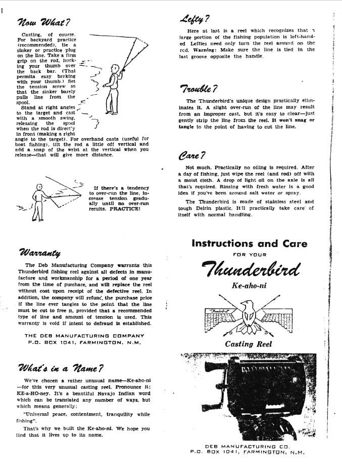Thunderbird schematics