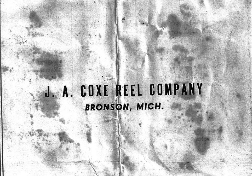 Coxe, J.A. - schematics