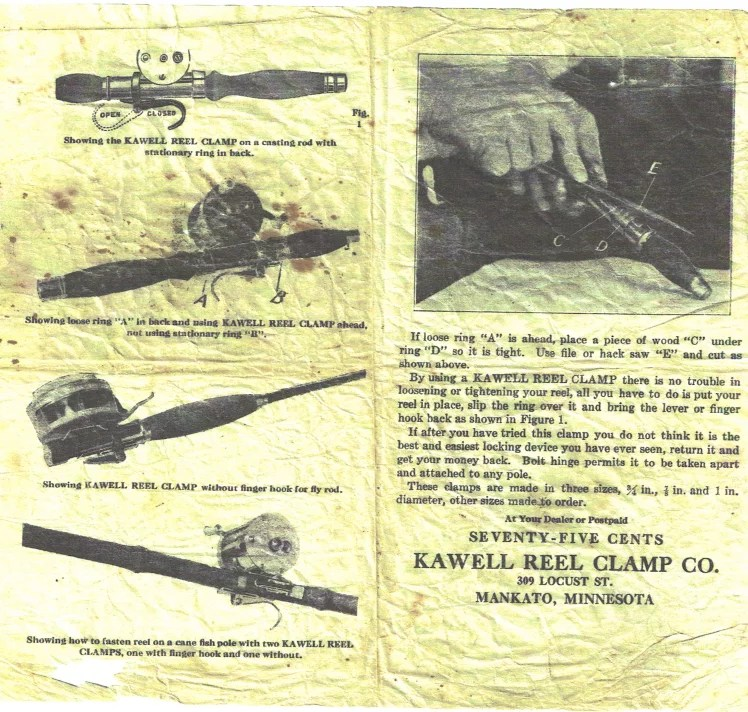 Kawell Reel Clamp Co
