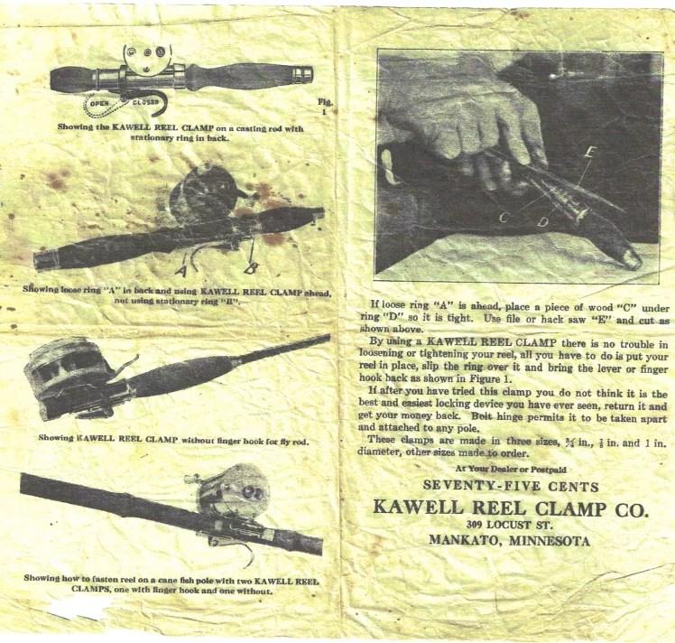 Kawell Reel Clamp Co