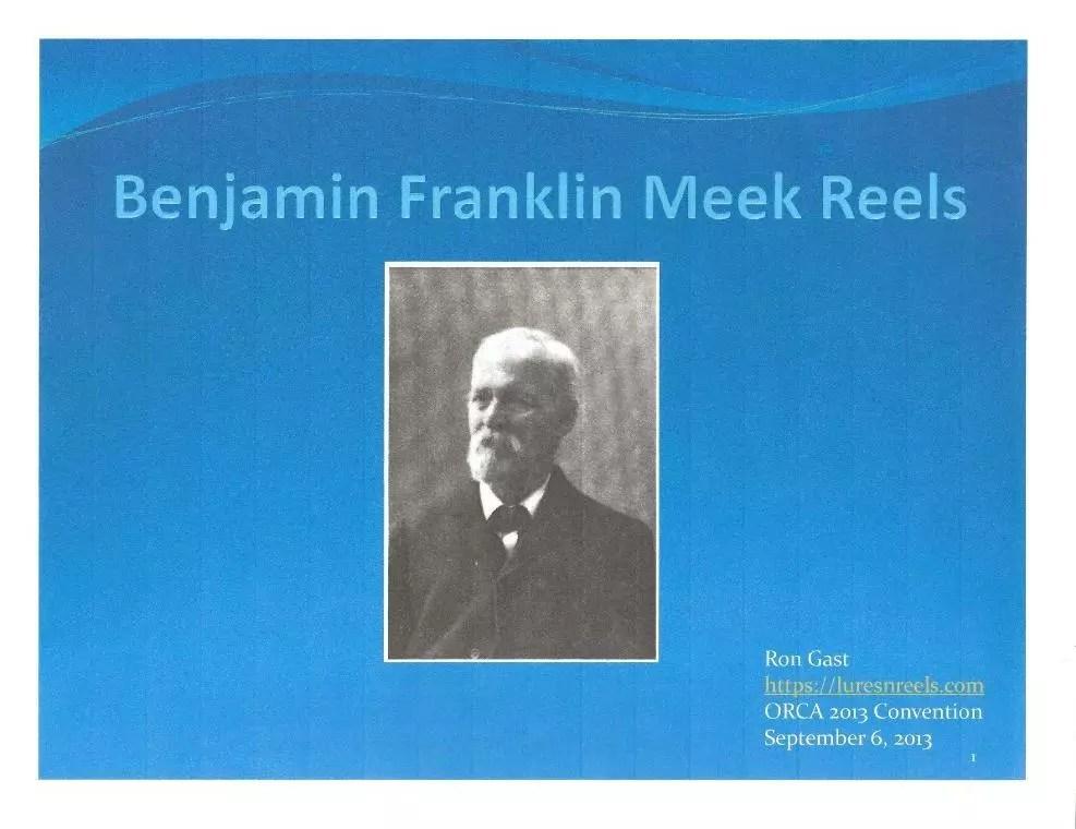 Meek Presentation Cover