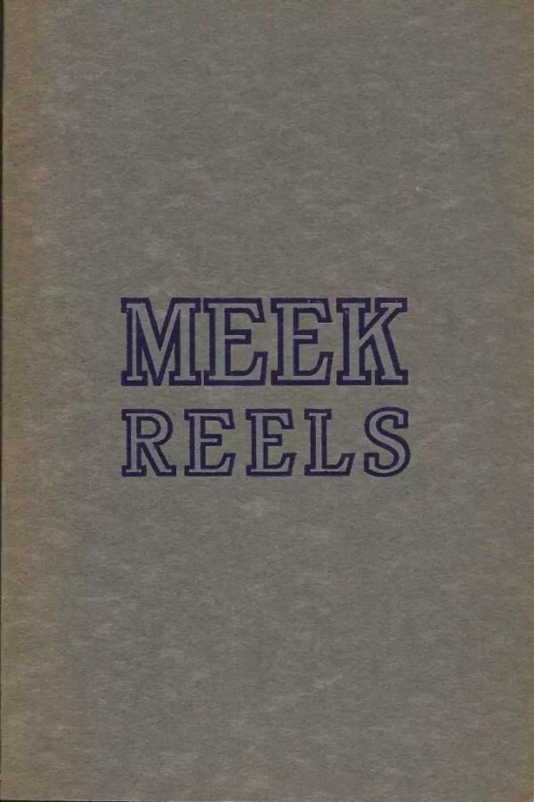 Meek 1916 Catalog Cover