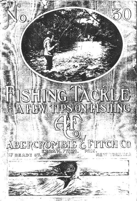 A&F 1911 Catalog Cover