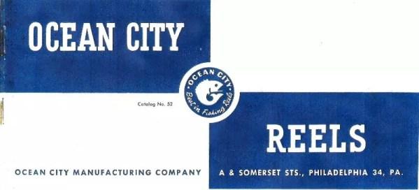 Ocean City 1952 Catalog Cover