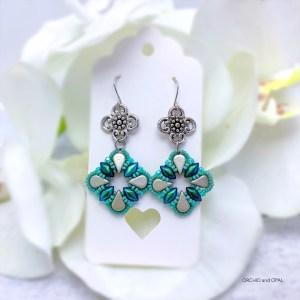 Aegean Breeze Earrings green