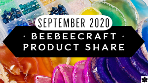 Beebeecraft Bead, Jewelry Making Craft Supply Haul | Sep '20