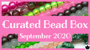 Curated Bead Box september 2020