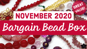 november 2020 bargain bead box
