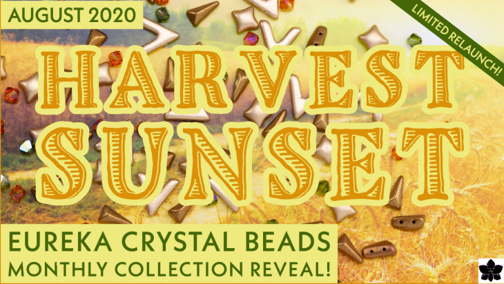 harvest sunset beading collection relaunch eureka crystal beads