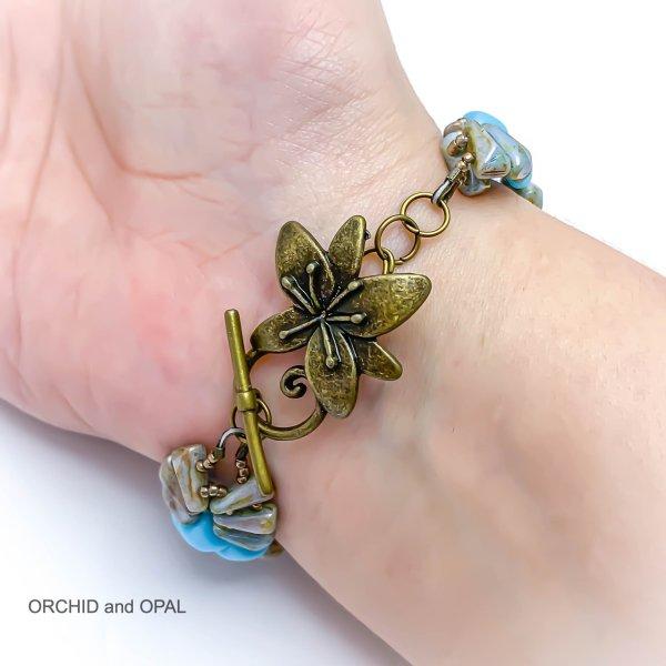 deco bracelet blue 2