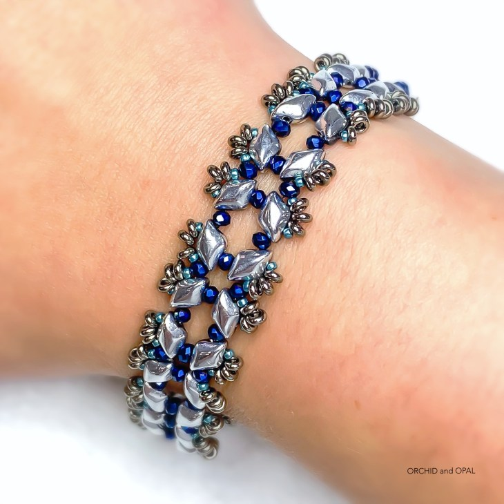 Starlight GemDuo Beaded Bracelet