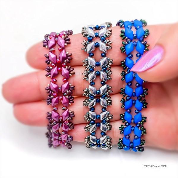 Starlight GemDuo Bracelet - Plum