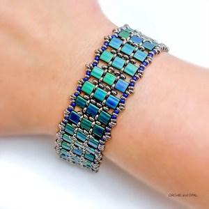 Twilight Tila Bead DIY Beaded Bracelet
