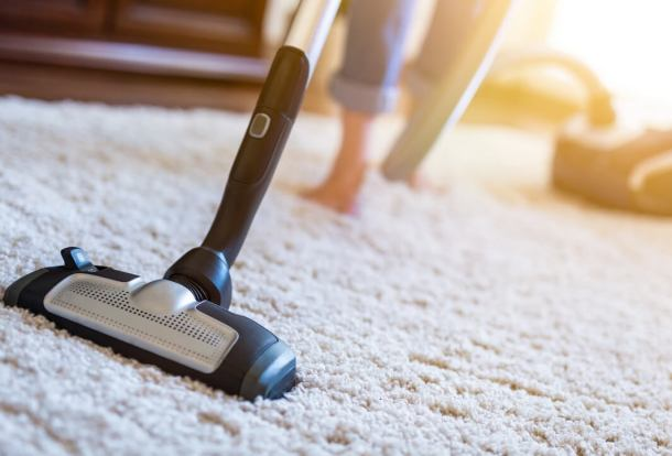 Vacuum Cleaning a Carpet - Perfect Vacuum Match - Orchid Cleaning Services
